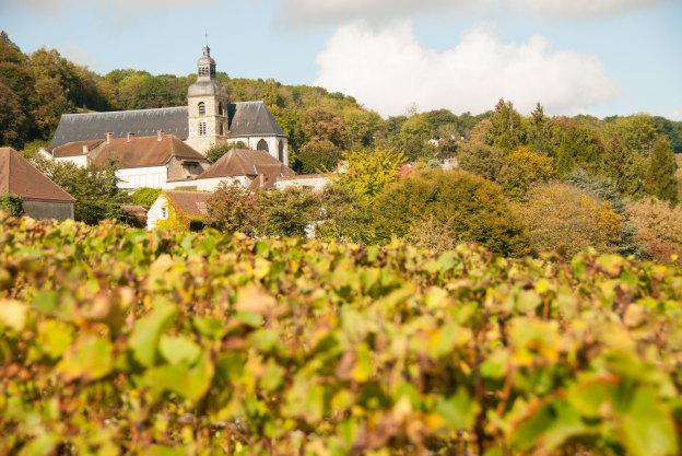 De abdij van Hautvillers