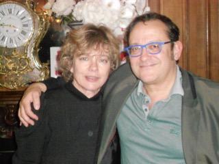 Maartje en Tom Lanoye