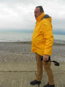 Onze verslaggever aan zee