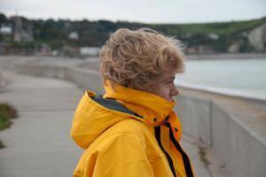 Maartje an de kust