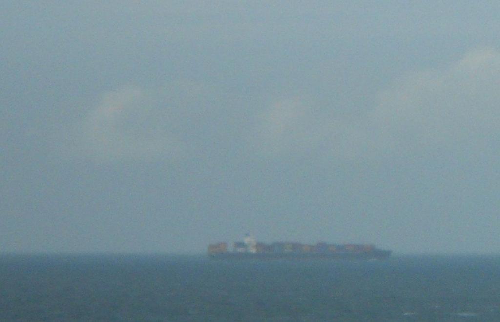Containerboot in het Kanaal